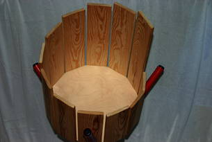 Helles Holz Rührtrommel gefertigt in Deutschland